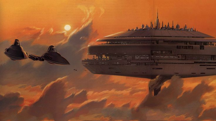 Ralph McQuarrie STAR WARS art 1979