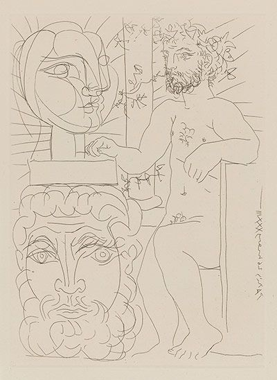 Picasso: Picasso print form the Volard Suite