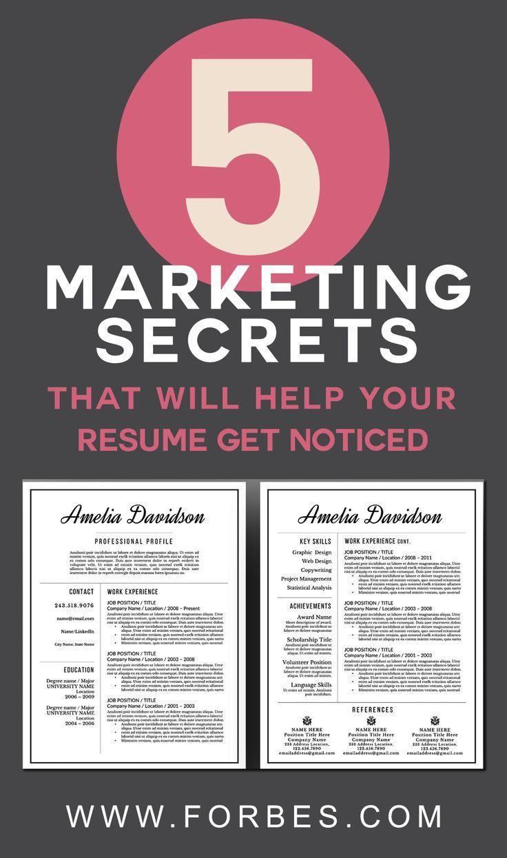 best 20  modern resume template ideas on pinterest