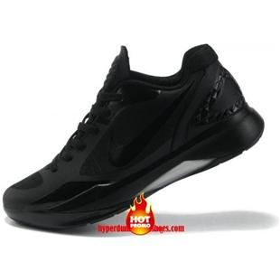 Cheap Hyperdunks 2011 Low Top All Black Metallic Silver 454138 003