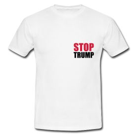 STOP DONALD TRUMP - Wahlen in den USA Elections More: www.nationalreview.com/article/430137/donald-trump-conservative-movement-menace Get the Shirts here: http://www.Bembeltown.Spreadshirt.de #Trump #Donald Trump #Trumpf #Donald Trumpf #President #Präsident #US President #US Präsident #USA #USA Präsident #USA Wahlen #USA Election #US Election #US Wahlen #Wahlkampf #Demoracy #Democrat #Millionaire #Billionaire #Millionär #Billionär #small hands #tiny hands #small dick #dickhead