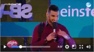 """Vorfreude auf Amjad mit seinem ersten Soloprogramm """"Angst vermeiden - Lachen verbreiten!"""""""