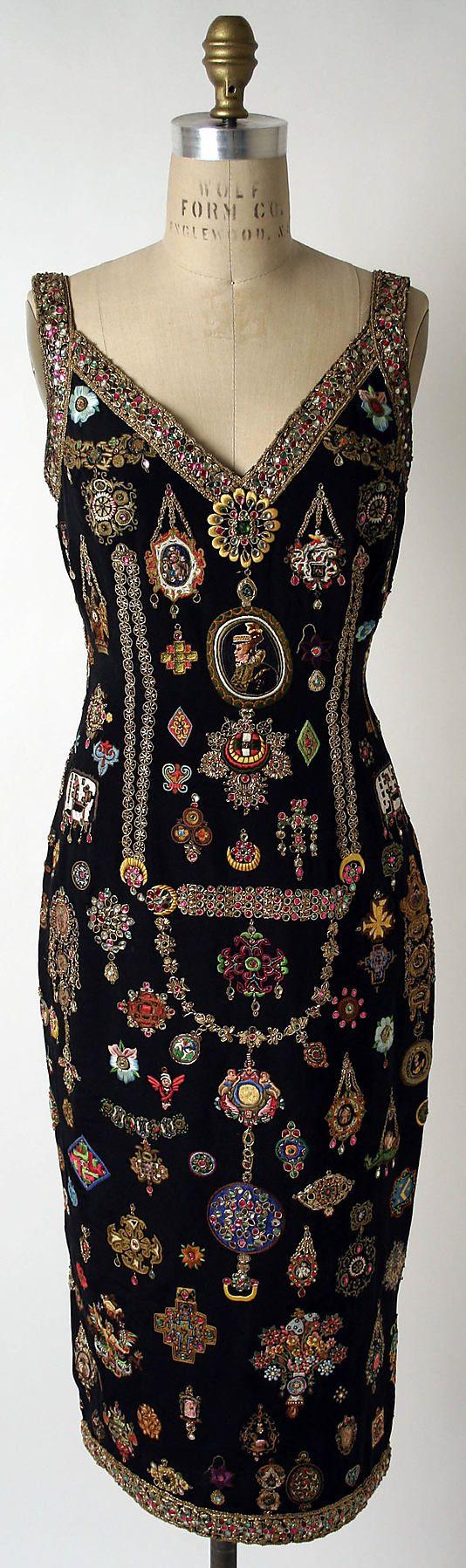 Dress Todd Oldham (American, born 1961) Date: spring/summer 1992 Culture: American Medium: silk Dimensions: Length at CB: 35 3/8 in. (89.9 c...