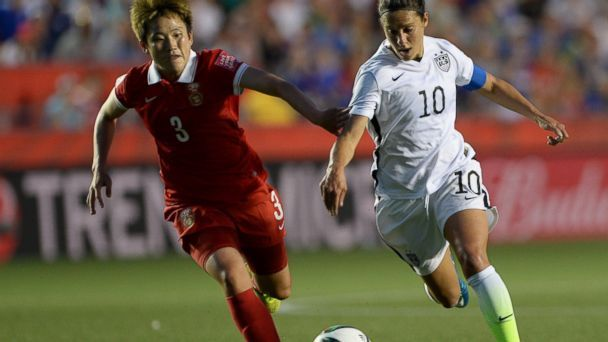 US Soccer Team Beats China 1-0 to Advance to Semifinals of Women's World Cup - ABC News