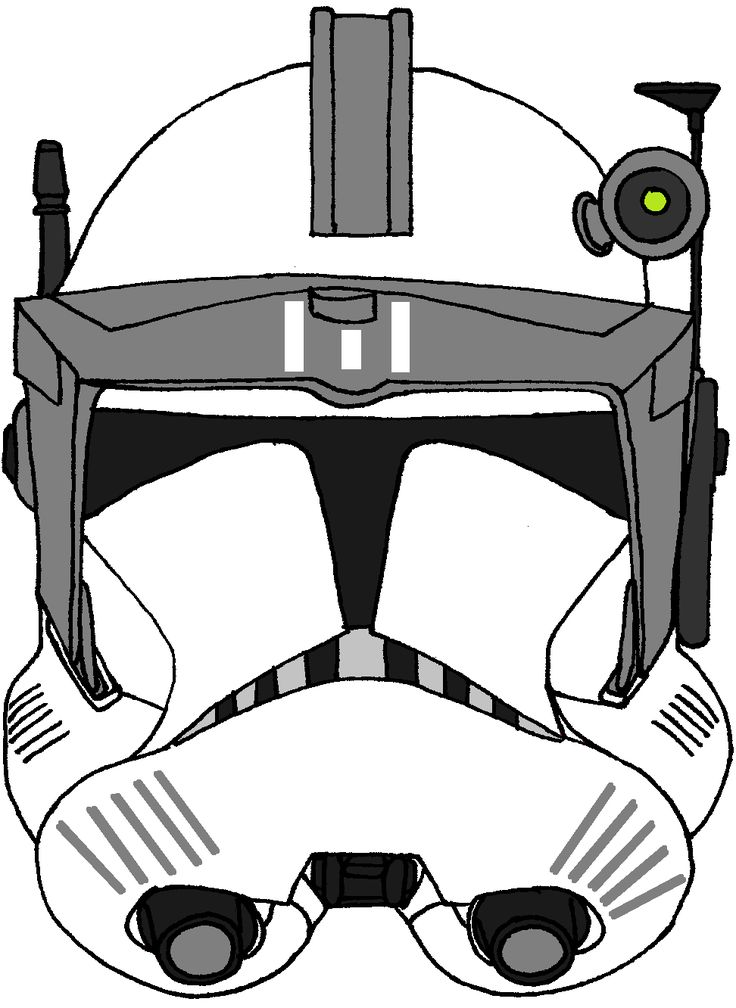 Clone Trooper Commander S Helmet Kamino Guards Star Wars Helmet Star Wars Images Star Wars Clone Wars