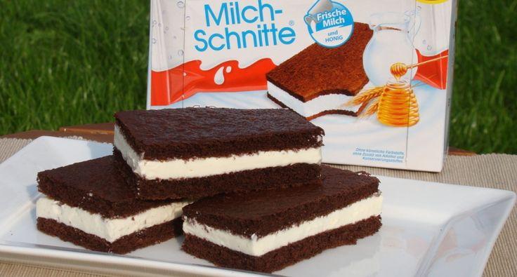 Ezért a receptér már, rég nyüstöl a család apraja,- nagyja, hogy készítsük el, de eddig nem kezdtem bele. Pedig az egyik kedvencem még nekem is, nem csak a gyerekeimnek. Pofon egyszerű ez a recept és hamar készen van. A receptek között böngészve végül egy német oldalon lévőt variáltam át picit. A tésztája puha és omlós a krémje is hasonló az eredeti Kinder tejszelethez!