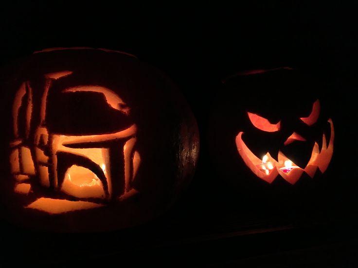 Csináld Magad - Boba Fett töklámpás - SZMK DIY Boba Fett pumpkin  #diy #diygeek #geek #pumpkin #pumpkincarving #halloween #csinaldmagad #tök #tökfaragás #starwars #diystarwars #bobafett #mindenszentek #mozikommuna