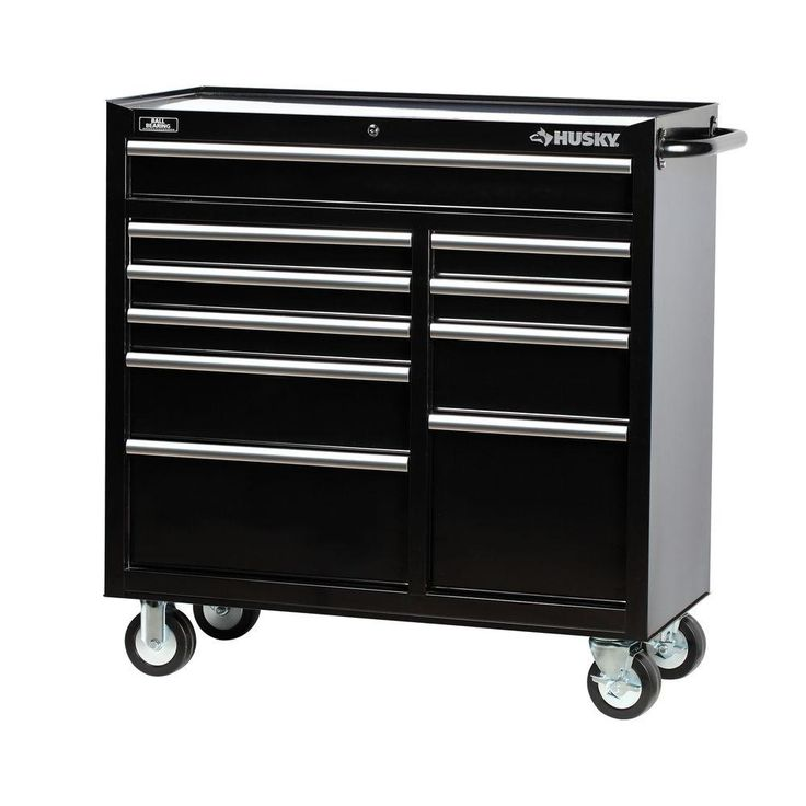Husky 41 in. 10Drawer Tool Roller Tool Chest in