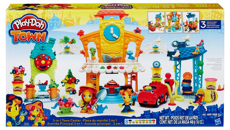 набор для лепки «Главная улица» Play-Doh