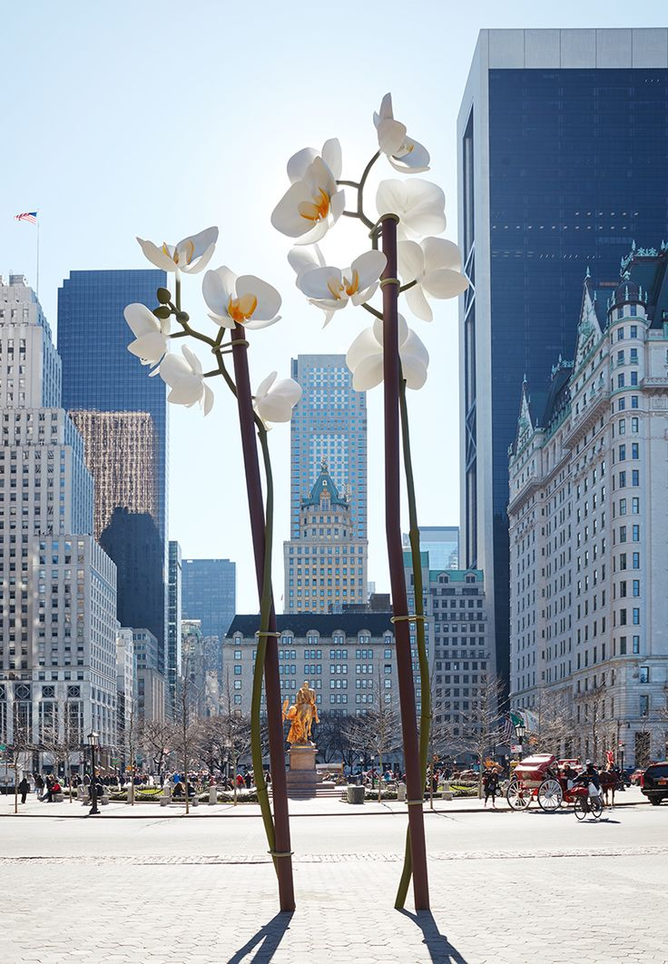 Contemporary Art Blog | Isa Genzken, Two orchids, 2016 On view at the...