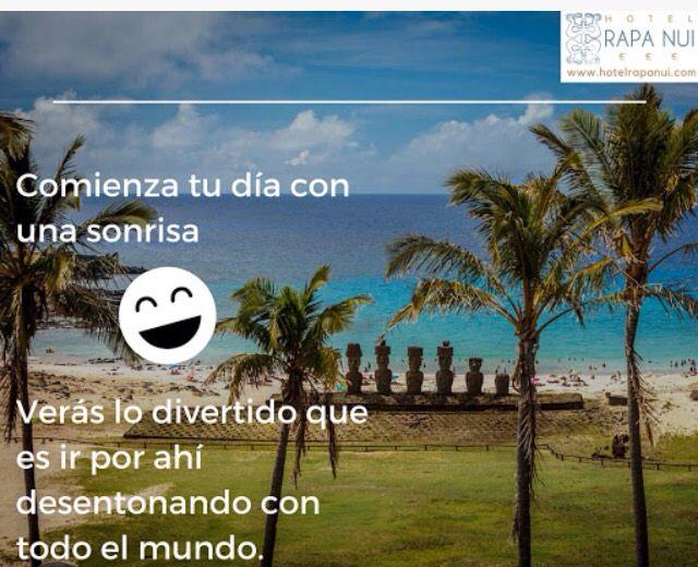 IORANA!! Hotel Rapa Nui les desea un buen Sabado