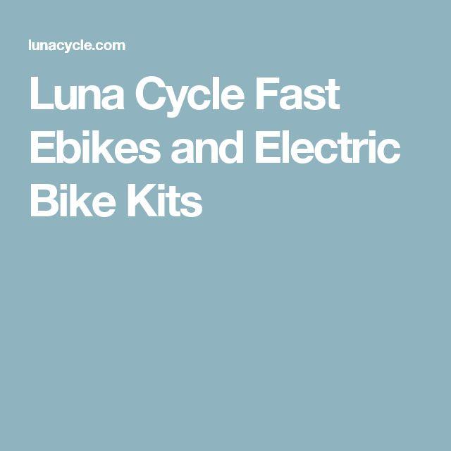 Luna Cycle  Fast  Ebikes  and Electric Bike Kits