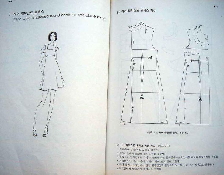 From korean sewing book by Svet Lana