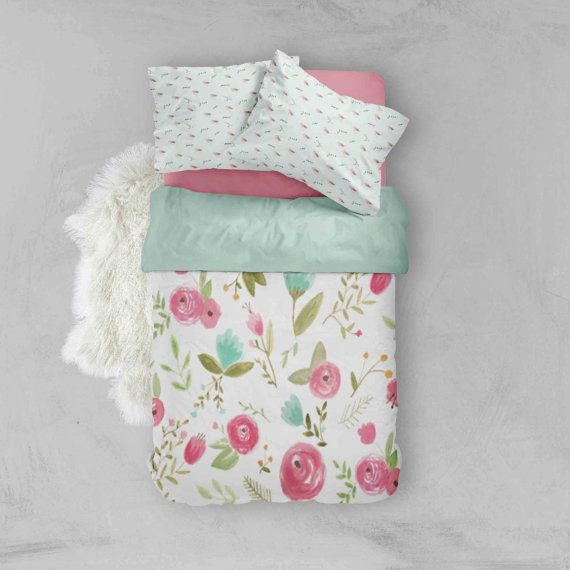 There is nothing more exciting than expanding your nursery into a toddler room and the excitement of a growing little blossom. Let me help you with an unique toddler bedding set that is sure to bring any room to life! The set includes: Toddler Duvet Cover - approx 46 x 68 ($149) Toddler Fitted Sheet - 28 x 52 ($59) Toddler Flat Sheet - 30 x 54 ($59) Standard Size Pillow Case (1) - 22 x 32 ($29)  The above items are the individual prices, if you buy in the set the total is $269 (saving you…