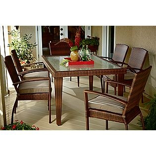 Mayfield 7 Pc Dining Set Ty Pennington Style Outdoor Pinterest Dining Sets And Sunroom