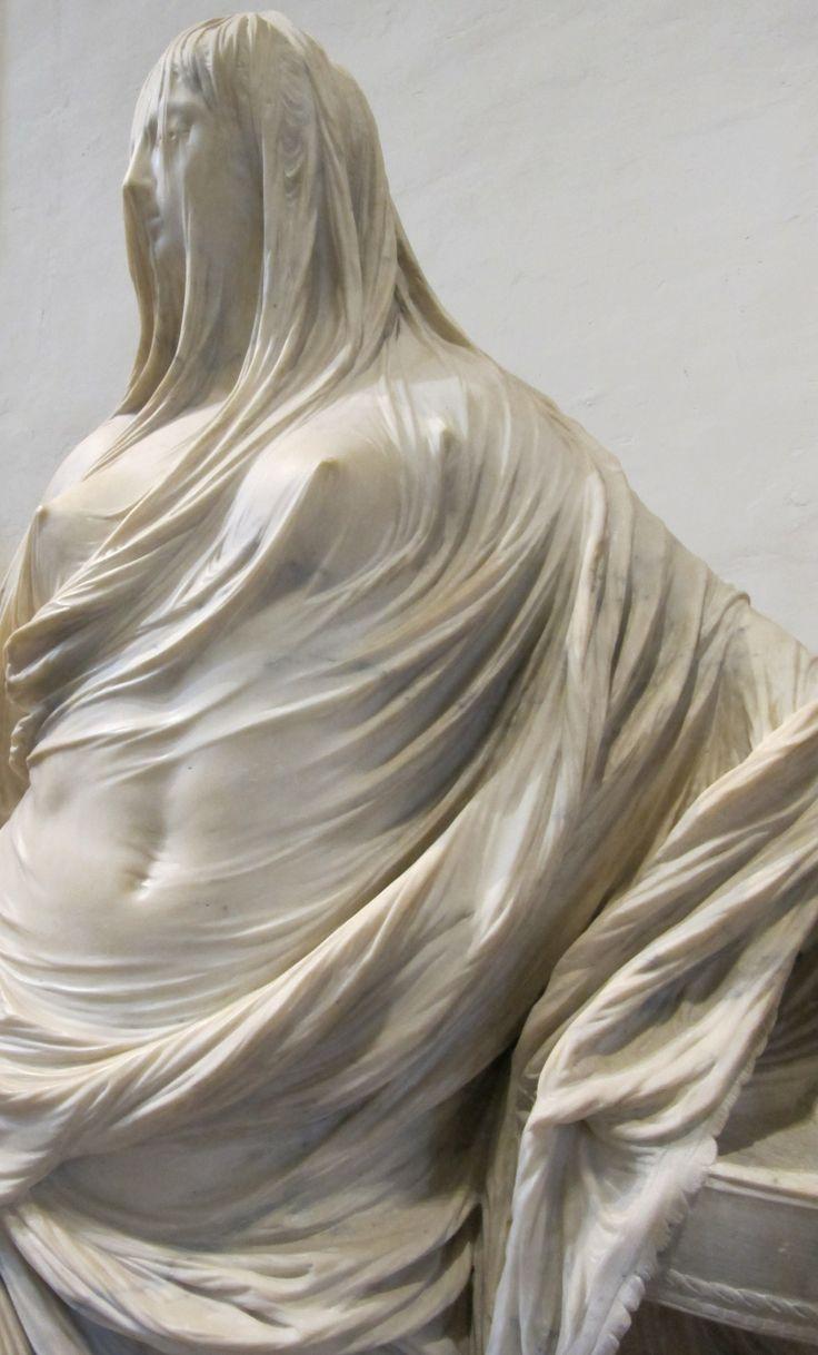 Tuccia velata, palazzo Barberini, Roma. Antonio Corradini