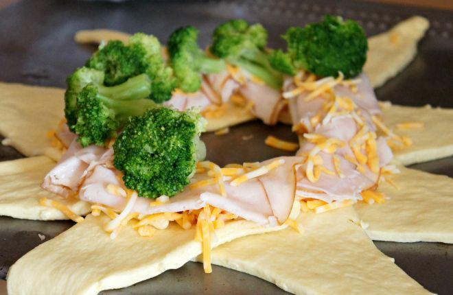 Brocoli pollo y queso