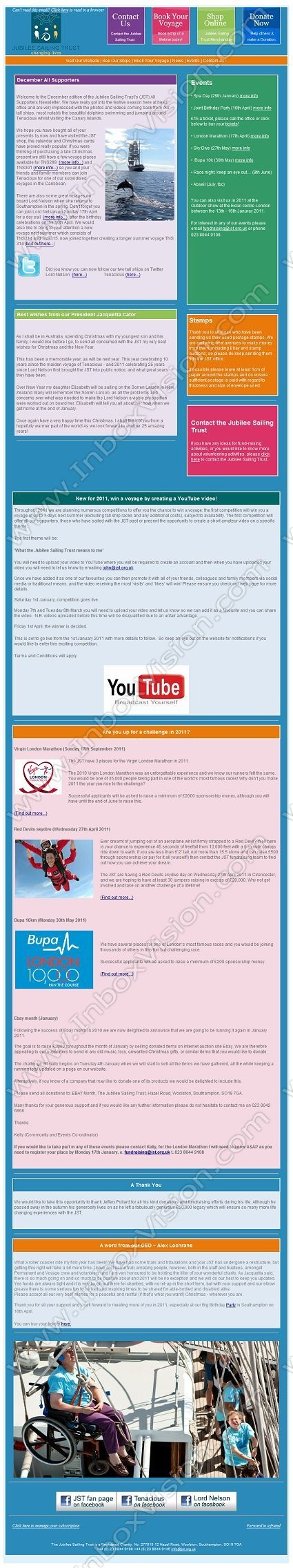 happy new year email template