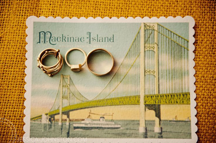 I think it'd be amazingly romantic to get married on Mackinac Island... y'know, like elope.