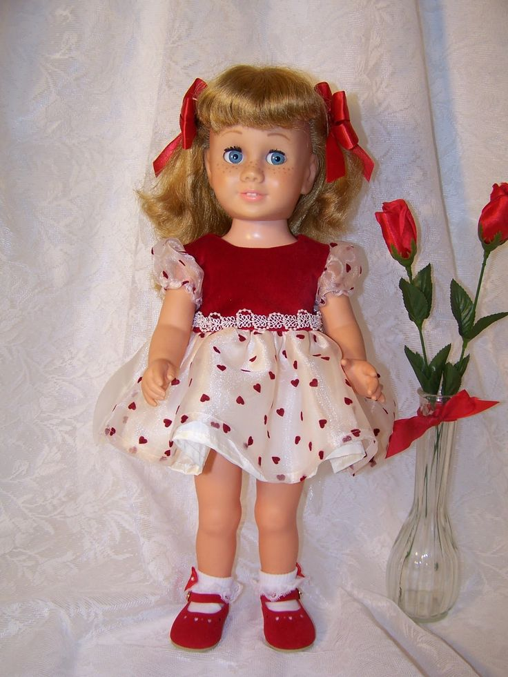chatty cathy doll - Loved my dolls like real babies.  My little sister cut off all their hair and drew measles on them with an ink pen when I was at school.  I was traumatized!!   HaHa!
