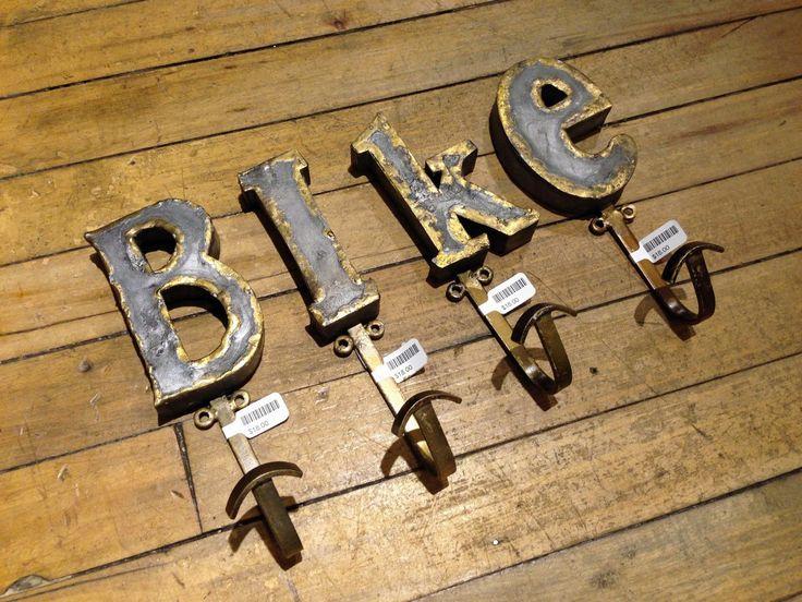 DIY: Alphabet Hooks for Helmet Storage