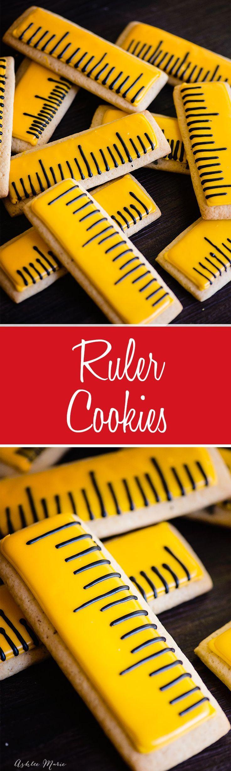 Ruler Sugar Cookies - Back to Schoolhttps://cookiecutter.com/ruler-cookie-cutter.htm