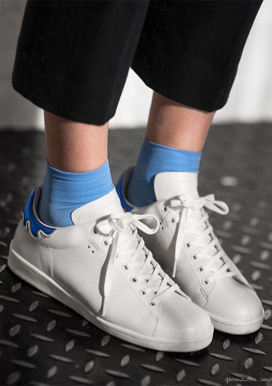 Sheherazade Goldsmith, style story, Paris apartment, Loquet London, trousers and shoes, Isabel Marant; top, Saint Laurent; belt, MBMJ / Garance Doré