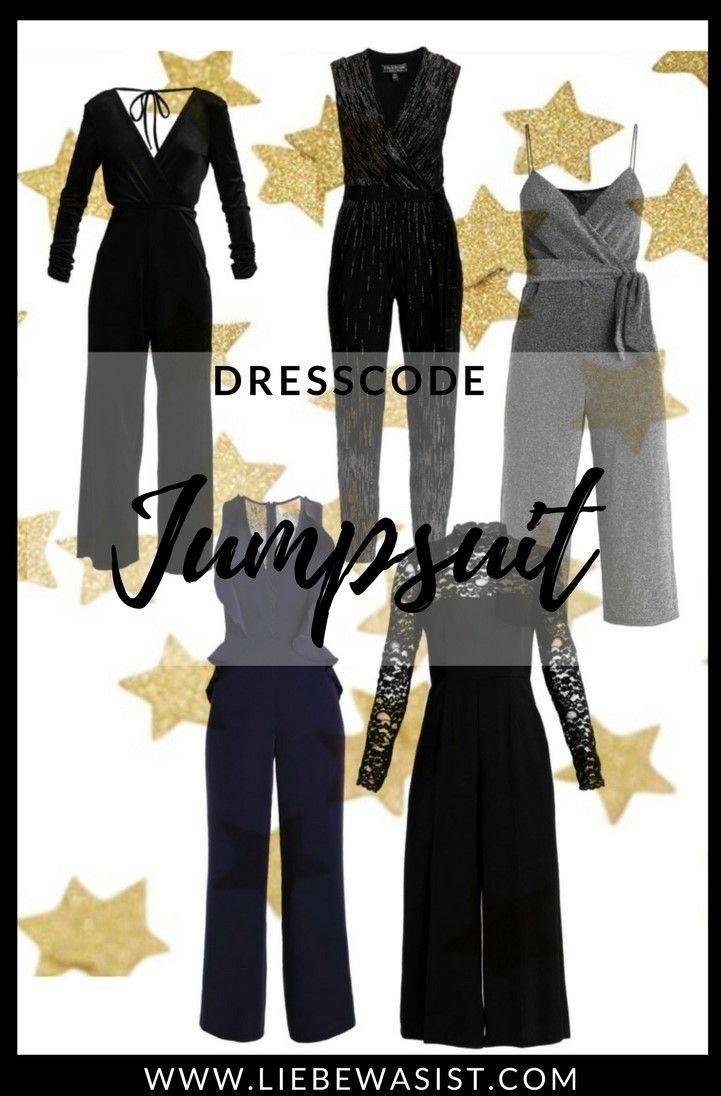 #ootd Silvester Dresscode mal anders: Jumpsuit statt Kleid oder Hose #fashiontrends