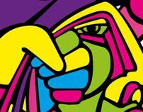 Diseño logotipo para Cantautora LA GABA :)