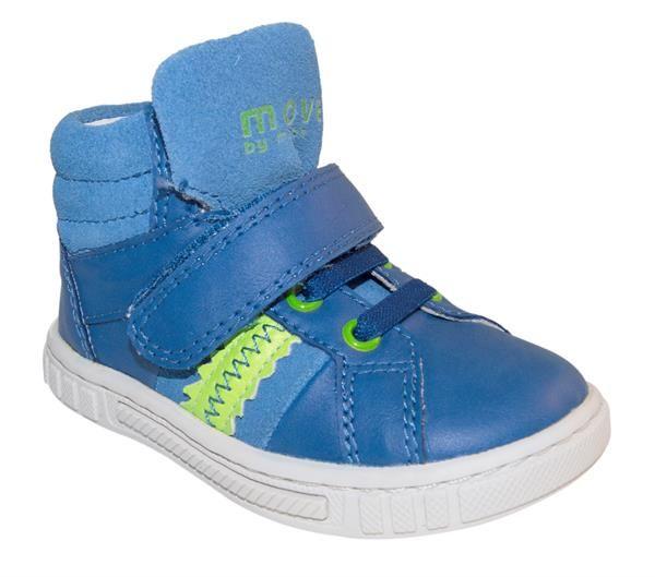 Melton - Basketstøvle - Neon blå