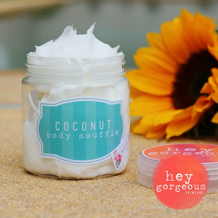 Perfect for dry, flaky itchy skin (and that includes eczema and psoriasis sufferers!) our fabulous Coconut Body Soufflé is super hydrating and leaves skin soft, moisturised and supple.