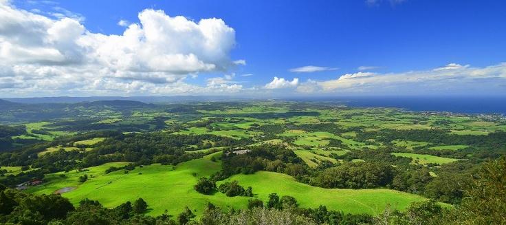 The Illawarra region of N.S.W from Saddleback mountain Kiama (Chilby Photography)