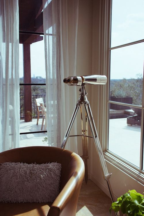 Who doesn't want a telescope like this in their living room?