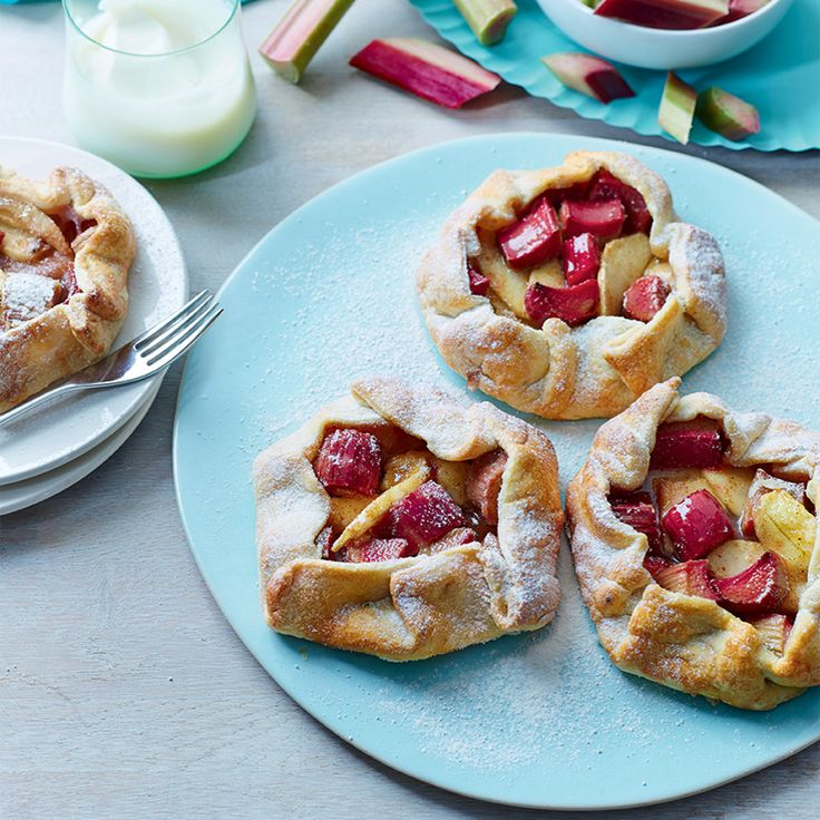 It's rhubarb season! That means there will be plenty of delicious Yorkshire-grown rhubarb around for you to get baking with. Try this recipe for rhubarb galettes at your next family meal