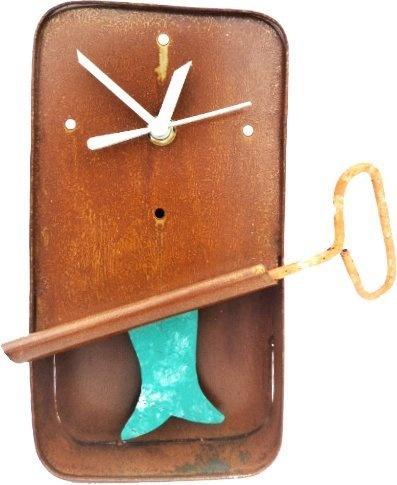 fresh idea whimsical clocks. Sardine Wall Clock  Handmade Artistry by Oxidos 39 99 click to see offer 9 best Whimsical Clocks images on Pinterest clocks