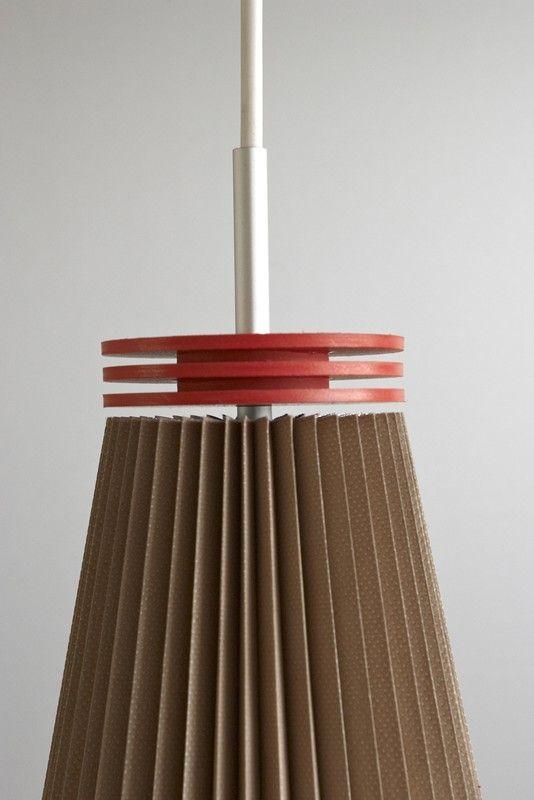 Milk coffee HARMONICA lamp by FLAPO