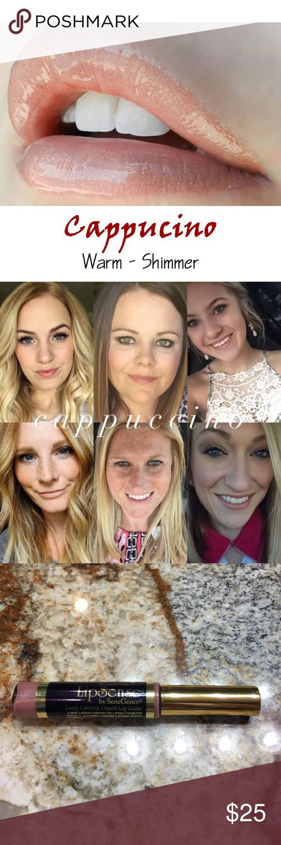 Lipsense CAPPUCCINO 18 Hour Lipcolor In Stock!!! Brand new, sealed! Cappuccino is a gorgeous and sophisticated nude Pink.   The premier product of Senegence, LipSense lasts all day – up to 18 hours. It is water-proof, kiss-proof, smudge-proof, and completely budge-proof. LipSense comes in a variety of captivating colors and can be layered to produce your own custom look.  Must be worn with a Lipsense gloss. Brand new, sealed!  COMMENT BELOW WITH YOUR EMAIL TO GET DISCOUNT INFORMATION, I…