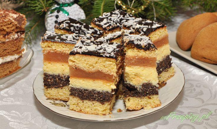 Ciasto+kruche+z+makiem,+serem+i+jabłkami