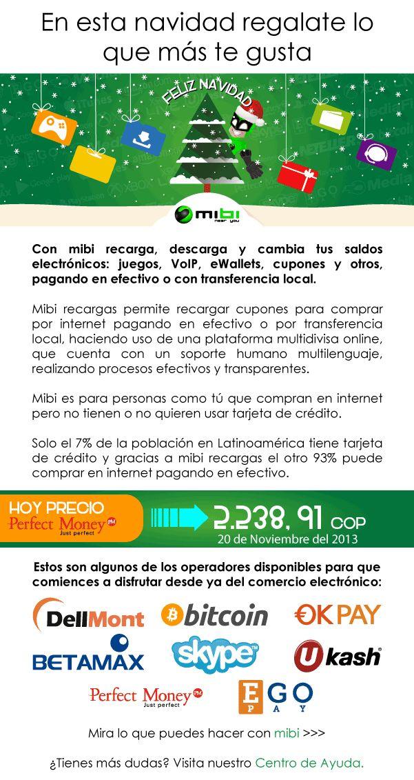Con mibi recarga, descarga y cambia tus saldos electrónicos: Juegos, VoIP, ewallets, Cupones y más! http://www.mibirecargas.com
