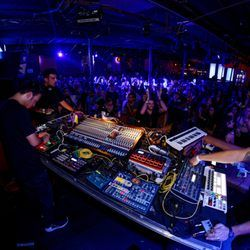Photo of Club Vinyl - Denver, CO, United States. A four story nightclub off of Broadway in Denver. Complete with a funktion-one sound system on the main floor, a rooftop deck...
