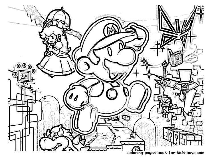 38 Free Printable Super Mario Christmas Coloring Pages In 2020 Mario Coloring Pages Coloring Pages Free Coloring Pages