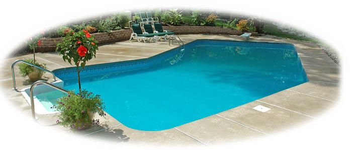 Grecian Lazy L In-ground Pool Kits - Above Ground Pools Experts Legacy Portable Pools