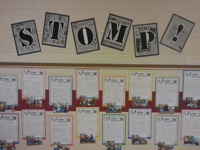 "A great lesson using the ""Stomp"" theme where students choose and write their rhythms and designate which instruments they will use.  Also check out the rest of this music educator's blog for ideas to use in your music classroom."