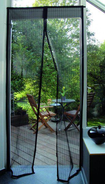Las 25 mejores ideas sobre mosquitero en pinterest y m s - Imanes para puertas ...