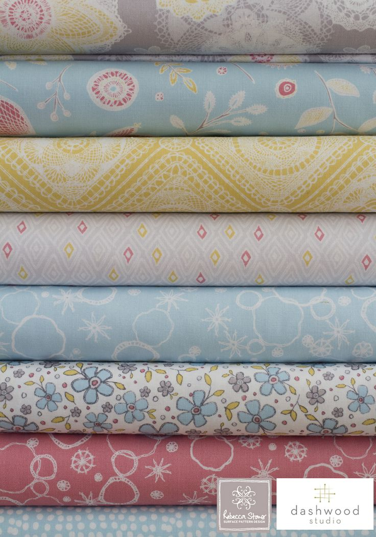 Prairie Fabric Collection by Rebecca Stoner for Dashwood Studio http://rebeccastoner.co.uk/category/prairie/