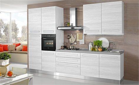 Cucina chiara mondo convenienza mono cucina ikea - Cucina 3 metri angolare ...