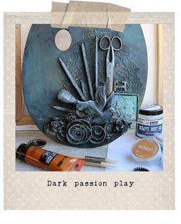 Dark Passion Play workshop by Riikka Kovasin for Art Workshops - United Kingdom