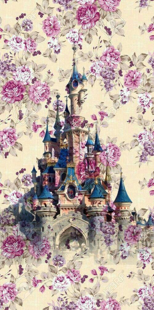 Disney vintage castle