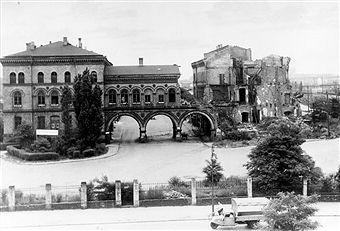 Berlin 1954 Anhalter Gueter Bahnhof Ruine