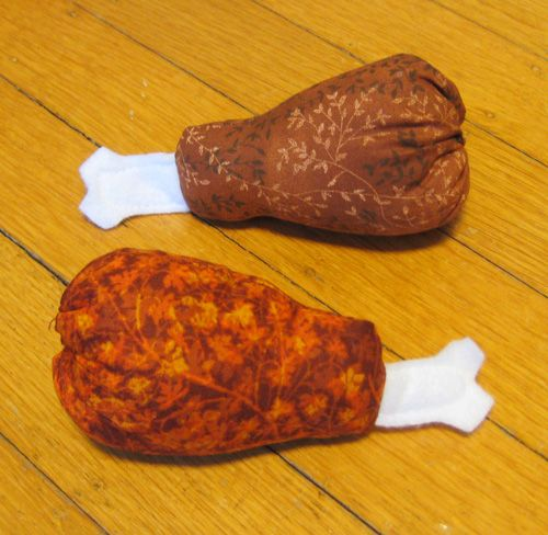 30% off Catnip Fried Chicken Legs and Chili Peppers!  Spicy good times await you with two Southern, Southwestern, Tex Mex toys! Go primal with a catnip fried chicken leg! Salsa across the floor chasing a catnip chili pepper! 30% off marked down on the website! (www.catfaeries.com/toys.html) Sale ends at High Noon Sunday August 10th! Free shipping when you order only cat toys!